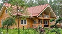 Wooden Villa from Finland – Finnish luxury log home provided by Rovaniemi Log House