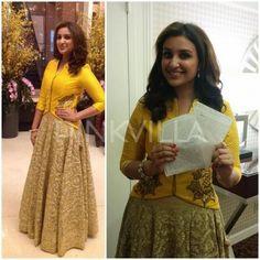 Anoli Shah- raw silk jacket with my lehenga for winter weddings!