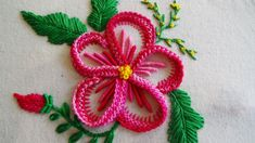 Hand Embroidery: Mediterranean knot