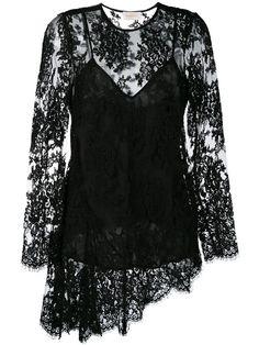 Zimmermann асимметричная кружевная блузка