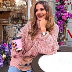 "f078bd28d1 Missy Empire on Instagram  ""Pink to make  em wink 🌸💖 🔍 Search  Francesca  Pink Cable Knit Roll Neck Oversized Jumper (£43) 💕 Tag  missyempire ..."