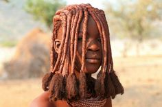 African Tribal Hairstyle