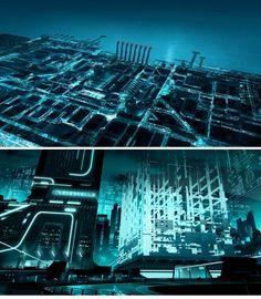 Concept Arts de Tron Uprising, por Robh Ruppel | THECAB - The Concept Art Blog