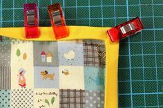 Tischset nähen – so geht's! Selber machen mit Anleitung Quilt Pattern, Canvas, Holiday Decor, Home Decor, Html, Landscape, Scrappy Quilts, Diy, Crafting