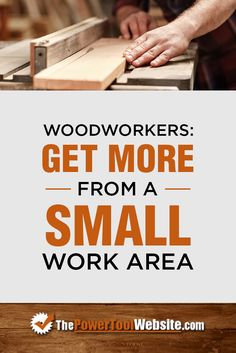 Discover The 3 Secrets To Becoming A Great, Small-Shop Woodworker. Find out how you can eliminate the learning curve and complexity of advanced joinery techniques like dovetails and mortise & tenons. Small Woodworking Projects, Woodworking Toys, Tool Website, Wooden Plane, Small Workspace, Art Supply Stores, Mortise And Tenon, Wood Working For Beginners, Wood Toys
