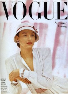 June 1946 cover of Vogue Magazine