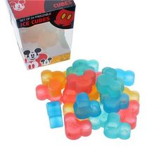 Mickey Re Usable Ice Cubes