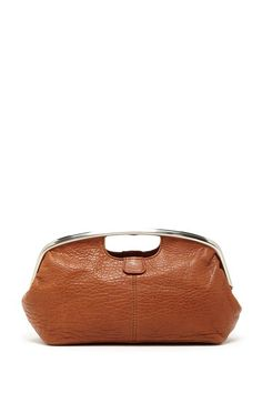 A simple, brown clutch. Easy, bohemian sophistication with a city edge. Goes with everything, especially delicious denim.