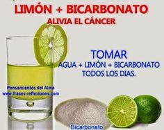 TOMAR LIMONADA TODOS LOS DÍAS CON UNA CUCHARITA DE BICARBONATO MATA A LAS CÉLULAS CANCEROSAS.    Es 10.000 veces más potente que la quim...