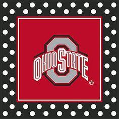 Ohio State Buckeyes Theme Party