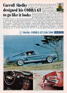 1968 Shelby Mustang Cobra GT 350 & 500