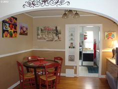 Chair Rail And Paint For Quick New Look Www Remodelingguy Net Interesting Dining Room Ideas