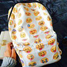 Emoji backpacks: Back to school coolness | Emoji backpack ...