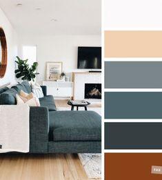 Good Living Room Colors, Living Room Color Schemes, Taupe Color Schemes, Living Room Color Combination, Apartment Color Schemes, Modern Color Schemes, Grey And Brown Living Room, Living Room Green, Dark Grey Walls Living Room