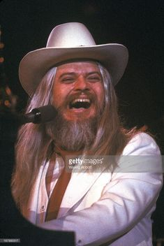 Leon Russell in performance at Nassau Coliseum, NY May 14, 1976.