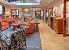 The original Hercule Poirot apartment in the tv series
