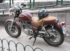 Suzuki TU250X - Tenerife bike by Fine Cars, via Flickr