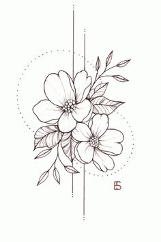 Fleurs de mai - David et Leanna - 736 x 1042 Sinon devise  Line Tattoos, Thigh Tattoos, Small Tattoos, Cool Tattoos, Guy Tattoos, Tattoos Skull, Dragon Tattoos, Meaningful Tattoos For Women, Best Tattoos For Women