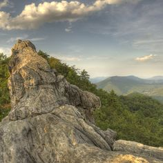 Dragon's Tooth, Appalachia VA one of my fave backpacking places