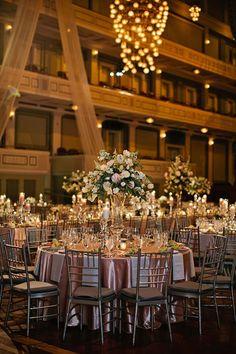 Nashville Wedding at the Schermerhorn Symphony Center in Tennessee: Photos