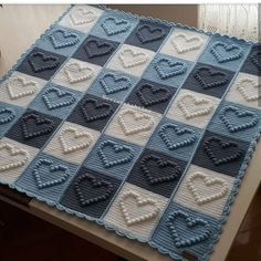 The Effective Pictures We Offer You About stricken babysachen A quality picture can tell you many th Baby Knitting Patterns, Crochet Baby Dress Pattern, Crochet Blanket Patterns, Bobble Stitch Crochet Blanket, Baby Afghan Crochet, Crochet Squares, Crochet Carpet, Crochet Yarn, Crochet Stitches