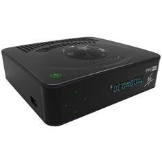 Receptor Tocombox PFC VIP Full HD 2 Ant. Wi-Fi interno USB iPTV18+ Viptv