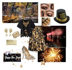 """""""Happy New Year!!"""" by thefrugal-fashionista on Polyvore featuring Schutz, Ruby Rocks, Kate Spade and Ben-Amun"""
