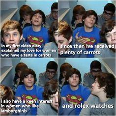 Bhahaha I love Louis <3