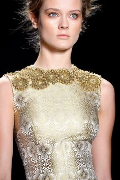 Jac Jagaciak, Vera Wang S/S 2013, New York Fashion Week