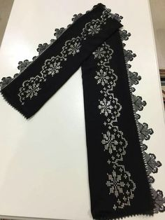 Hardanger Embroidery, Cross Stitch Embroidery, Hand Embroidery, Crepe Silk Sarees, Weaving Patterns, Bargello, Cross Stitch Designs, Symbols, Letters