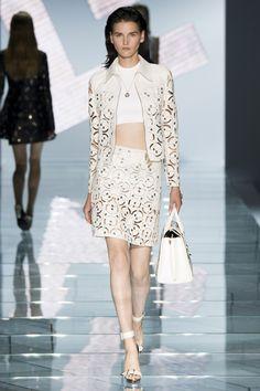 Défilé Versace printemps-été 2015 #mode #fashion