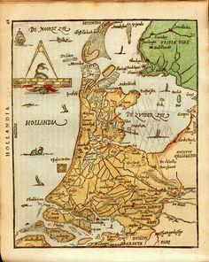 Holland - Abraham Ortelius (1527-1598)