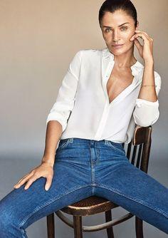 63c420c739b Helena Christensen for InWear Fall Winter 2016 Daily Fashion