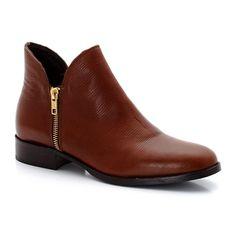 Boots EDEN (Cognac)