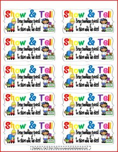 Show & tell coupon.  Love it!  The kids are going to love it too!