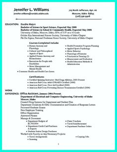 awesome making simple college golf resume with basic but effective information check more at http