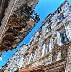 Old Stone House in central Dubrovnik, Croatia