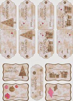Imprimolandia: Etiquetas de Navidad(2)