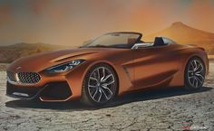 New BMW 'Concept Z4' Previews Forthcoming Roadster