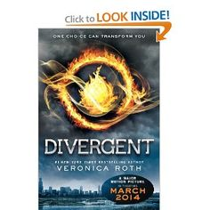 If you're looking for good books to read this summer, this Divergent is the first in a trilogy and it's a super fast read.