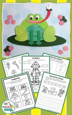 Keep your students focused on their language goals while having a blast with this Spring Speech and Language Activities set for speech therapy. Sequencing Activities, Speech Therapy Activities, Language Activities, Speech Language Therapy, Speech And Language, Speech Pathology, Teaching Kindergarten, Teaching Ideas, Teaching Vocabulary