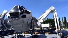 La réplica de la nave de #IndependenceDay que pudo verse en SalónCómicBarcelona estos días