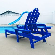 Soak up the sun next to your pool in this Long Island Chaise Lounge. Available in 13 traditional and bright vibrant colors to fit your style need. Don't worry about leaving it in the sun because the colors are fade resistant with UV protection. Polywood is ultra durable, weather resistant, and affordable outdoor patio furniture.