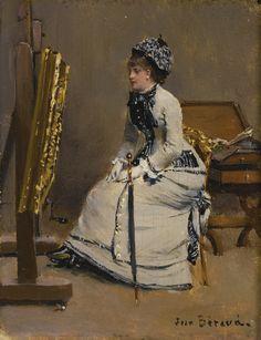 béraud, jean femme assise devant un | beauties | sotheby's n09499lot8z5fxen