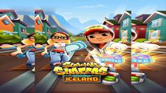Subway Surfers 2018 - TASHA World Tour ICELAND/Games Kid's