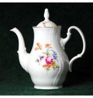 Coffee pot 1,2 l, Thun 1794 Carlsbad porcelain, Bernadotte