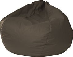 Kids' Bean Bag Chairs - Gold Medal 30008446821 Small Leather Look Bean Bag for Children Walnut *** Click image to review more details.