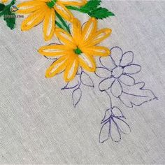 crewel embroidery kits for sale Diy Embroidery Flowers, Basic Embroidery Stitches, Hand Embroidery Videos, Crewel Embroidery Kits, Embroidery Stitches Tutorial, Creative Embroidery, Simple Embroidery, Learn Embroidery, Silk Ribbon Embroidery