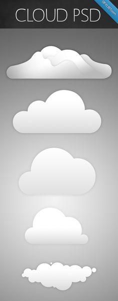 Simple Cloud Pack by IITuckingFypoII.deviantart.com on @deviantART