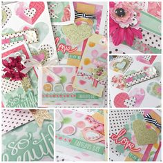 Card Making Kit DIY. All supplies included, instructions and colour photos. Great for celebrating the special ladies in your life, including Mothers' Day Make Your Own Card, How To Make, Card Making Kits, Unique Cards, Card Maker, Card Kit, Diy Kits, Pattern Paper, Gift Tags